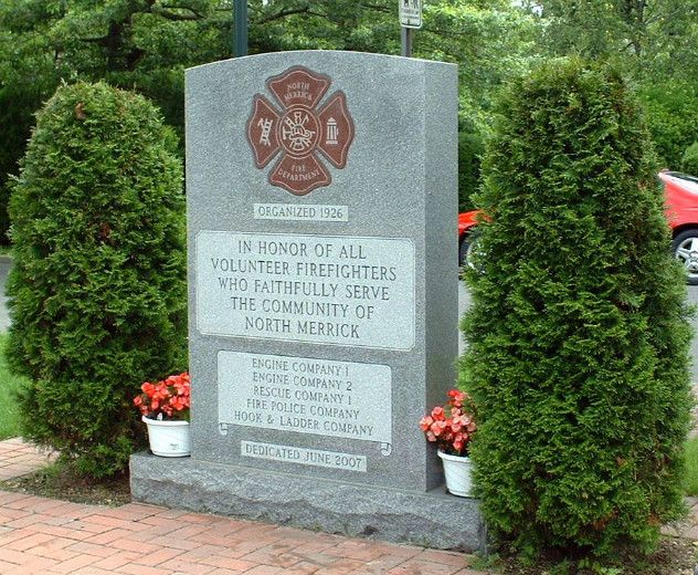 North Merrick Fire Department Monument